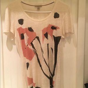 Burberry Graphic Linen T-shirt